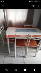 Vendo sofa e mesa 480 negociavel