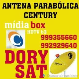 Parabólica digital century