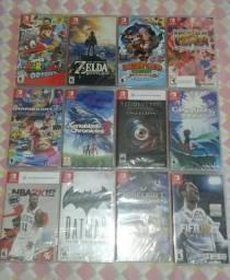 Jogos para Nintendo Switch lacrado
