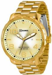 Relógio X-games Masculino Xmgs1004 C2kx Dourado 100 metros