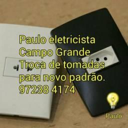 Eletricista melhor preço em Campo Grande