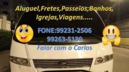 Aluguel Frete Passeios de Micro Ônibus - 2017