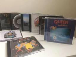 Queen - Coleção de Cd's (08 Álbuns, 2 Duplos)