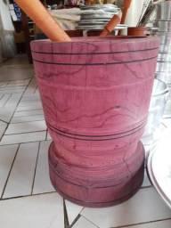 Pilão rústico de roxinho grande