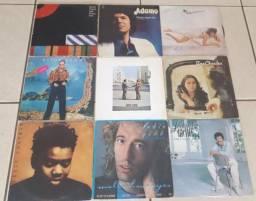 VINIL- 9 lp's/Pink Floyd/Robin Gibb/Tina Charles/Joe Dolan +