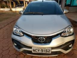 Toyota Etios Platinum 1.5 (Flex) (Aut) 2018 - Seminovo - Único Dono - 2018