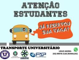 Transporte Universitário p  Londrina 633a74bb63c