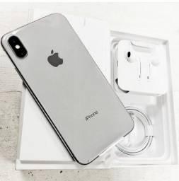 IPhone XS Max Silver 64GB, Novo/Lacrado, Anatel e Garantia Apple de 1 Ano