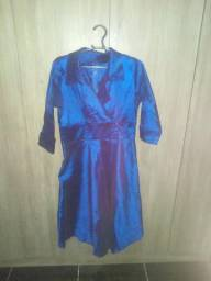 Vestido de tafetá