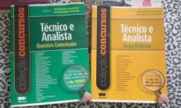 Apostilas técnico e analista teoria e questões