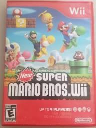 Jogo Midia Fisica New Super Mario Bros Para Nintendo Wii
