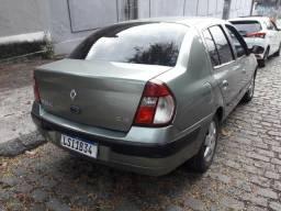 Clio Sedan - Ac.Trocas - 2019 vistoriado - GNV - Flex - 2005