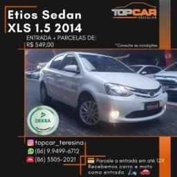 Toyota Etios Sedan XLS 1.5 2014 - 2014