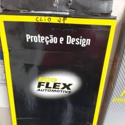 Calha de chuva para Clio fase ll todos 2 portas nova instalada no seu carro