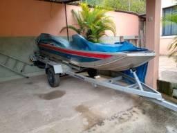 Troco barco em carro