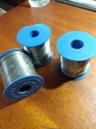 3 rolos Liga de solda 1,5 mm 500g