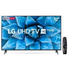 "Smart TV Led 70"" Uhd 4K Wi-Fi, Bluetooth, HDR, Inteligência Artificial ThinQ AI"