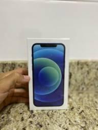 Promoção IPhone 12 64 azul lacrado