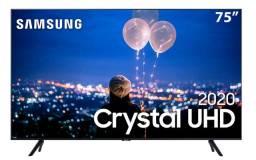 "Smart TV Led 75"" Uhd 4K Samsung 75TU8000 Crystal UHD, Borda Infinita, Melhor preço!!"