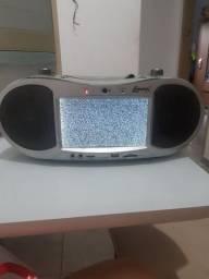 Rádio, dvd  e TV    com defeito