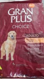 Ração P/cão - GranPlus Carne e Frango 20kg. (ler descr.)
