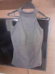 Título do anúncio: Blusa cavada gray