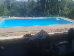 Linda piscina de fibra 7.60 x 3.30 x 1.40 direto da nossa fabrica!