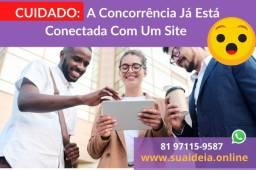 Título do anúncio: Seu site vendendo o seu negócio
