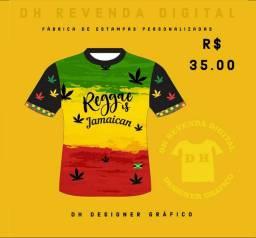 Camisa do Reggae Modelo 1 Nova