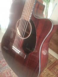 Novo, Violão Fender Luxo, oportunidade, wats *