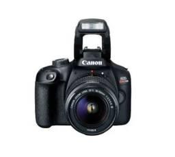 Título do anúncio: Câmera EOS Rebel T100 Premium Kit com Lente EF-S 18-55mm + Cartão SD 32 Extreme