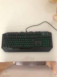 Teclado Gamer Devastação - Iluminado Verde