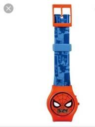 Relógio infantil homem aranha ?
