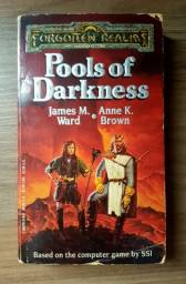 Título do anúncio: Pools of Darkness -- Forgotten Realms Novel -- RPG