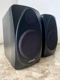 Título do anúncio: Vendo par caixas Polk Audio Rm1300