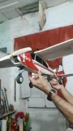 Título do anúncio: Avião aeromodelo elétrico