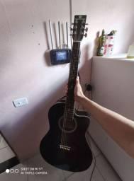 Violão Harmonics Aço Eletro-Acustico
