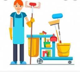 Título do anúncio: Vaga de auxiliar de limpeza