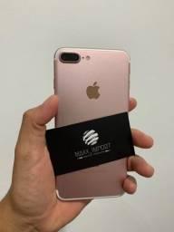 Título do anúncio: iPhone 7 Plus 32gb rose semi novo em 12x sem juros