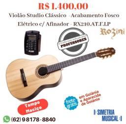 Violão Studio Rozini RX-210 Elétrico Novo com Nota Fiscal e Garnatia de 12 meses