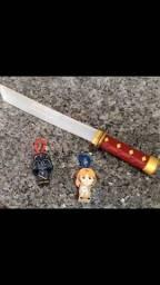 Título do anúncio: Star wars espada led mais chaveiros colecionáveis