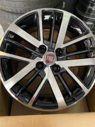 Jogo de rodas nova Fiat strada aro 15