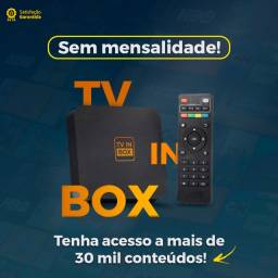 Título do anúncio: TV in box Entretenimento, Lazer e Diversão