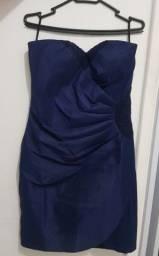 Título do anúncio: Vestido azul marinho de festa