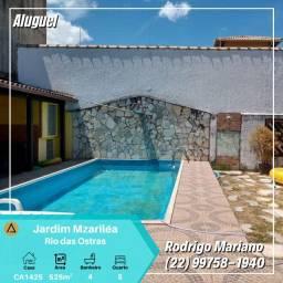 Alugo maravilhosa casa de 5 quartos e piscina no Marléia em Rio das Ostras