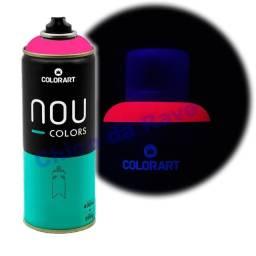Tinta spray rosa fluorescente Nou Colors (maravilha luminoso)