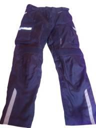 Jaqueta e calça motociclista TEXX