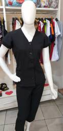 Título do anúncio: Queima de Estoque 2 blusas Tamanho M no Tecido Two Way por R$ 39,99