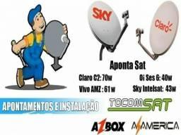 Tecnico de tv e cabo e antena digital apontamento de antenas em geral