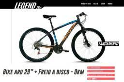 """Bicicleta Aro 29"""" Nova 0km na Caixa Freio a Disco - Promoção! - South Modelo 2018"""